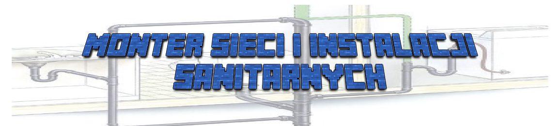 Monter sieci i instalacji sanitarnych